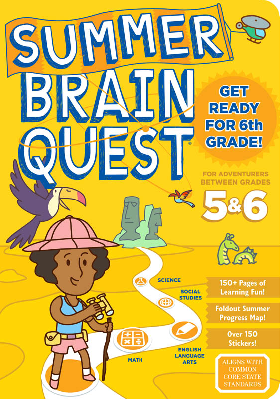 Summer Brain Quest - Between Grades 5 & 6