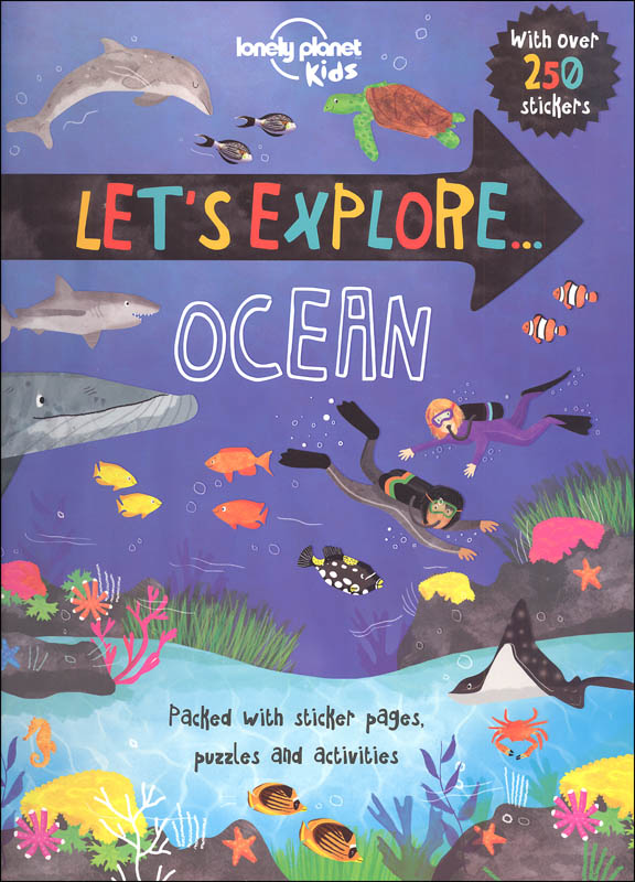 Let's Explore Ocean with Stickers