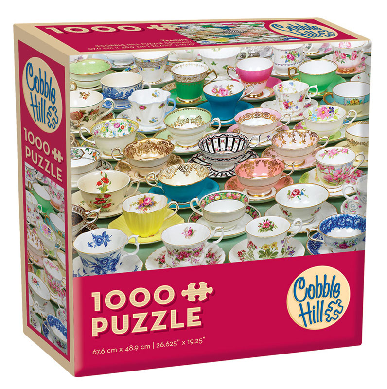 Teacups Jigsaw Puzzle (1000 piece)