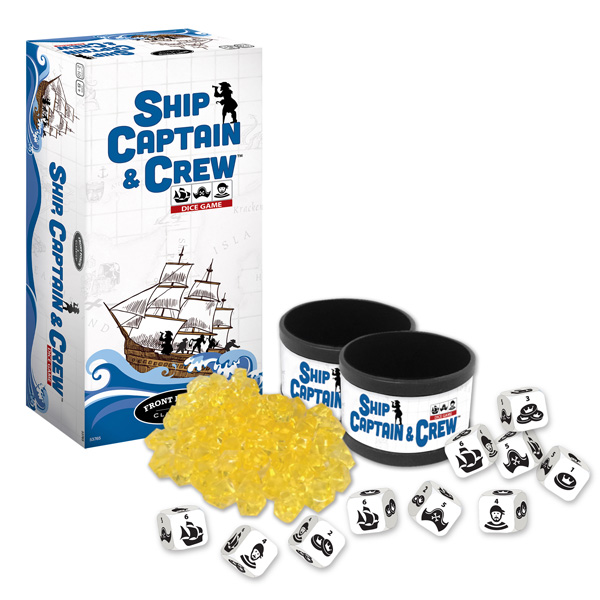 Ship, Captain and Crew Dice Game