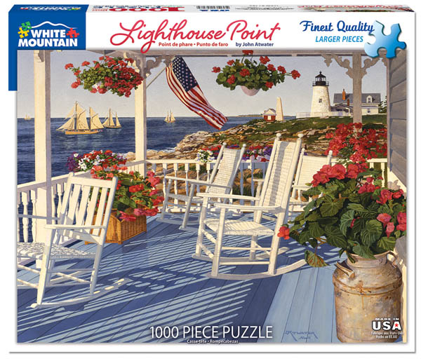 Lighthouse Point Jigsaw Puzzle (1000 piece)