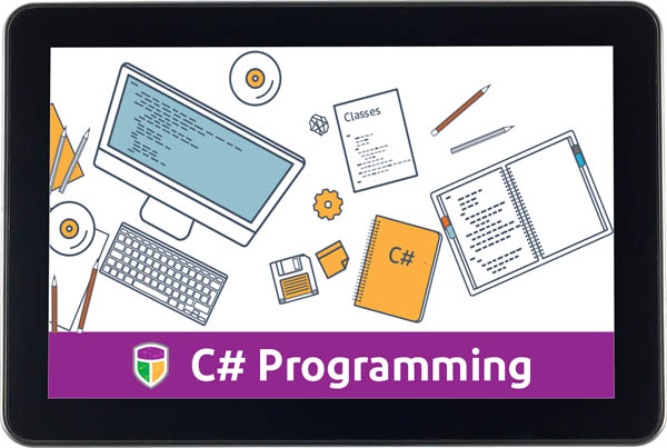 CompuScholar Windows Introductory Programming (C#) 1-Year Subscription