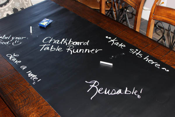 "Chalkboard Table Runner (14"" x 72"")"