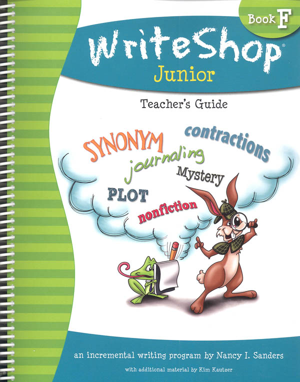 WriteShop Junior Level F Teacher's Guide