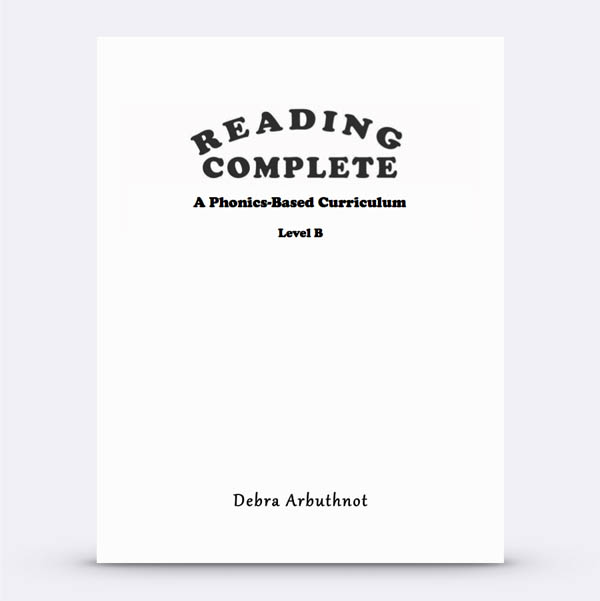 Reading Complete: Level B Student Workbook Refill Pages