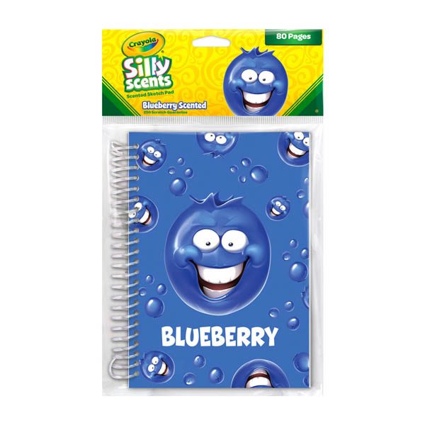 Crayola Sketch & Sniff Large Pad - Blueberry