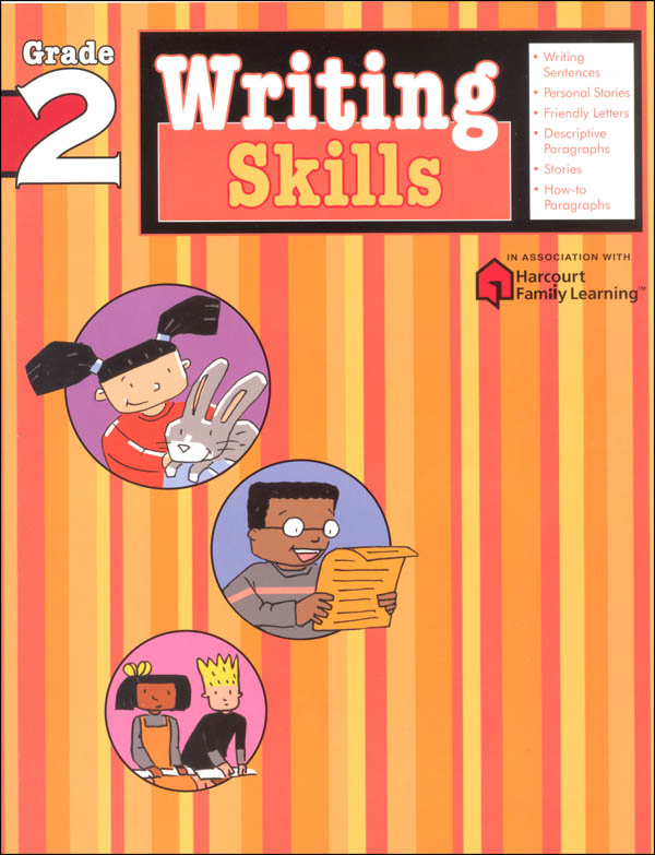 Writing Skills Grade 2 (Flash Kids Harcourt Family Learning)