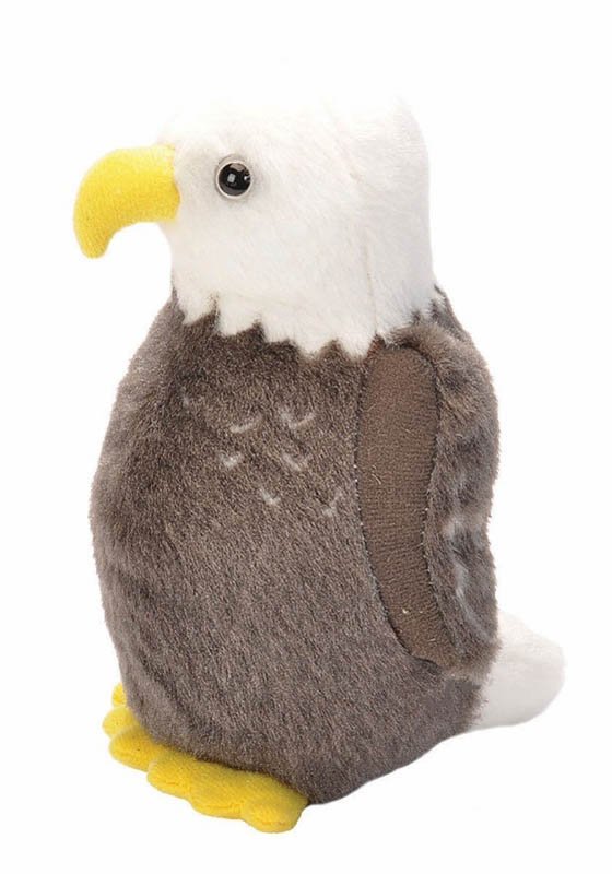 Audubon Bird: Bald Eagle Plush With Real Bird Call