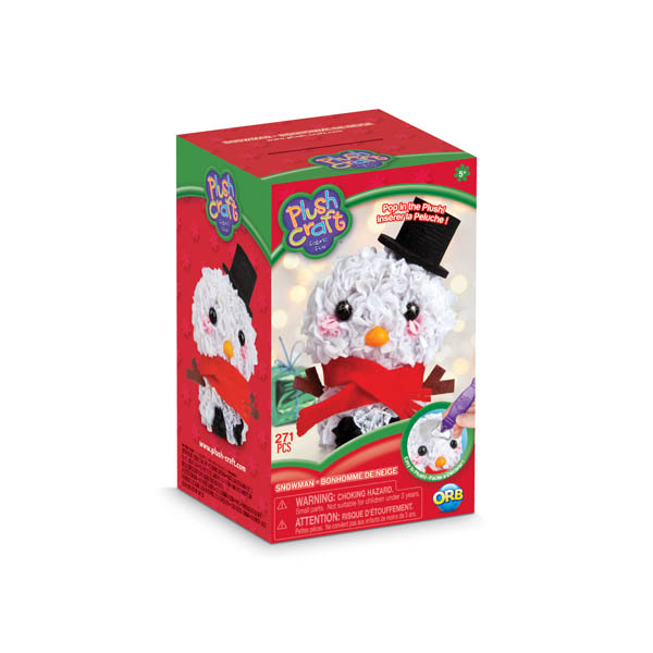 PlushCraft Holiday Collection Snowman (3D mini)
