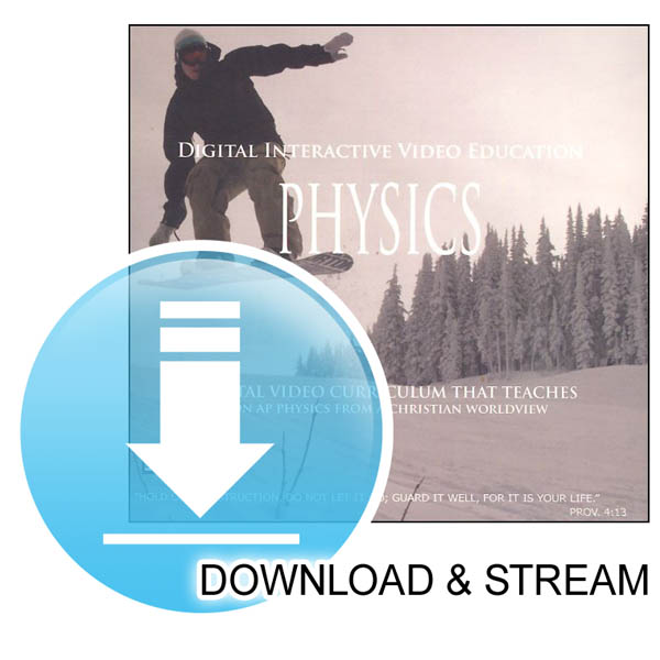 DIVE Download & Stream Saxon Physics Lecture and Lab