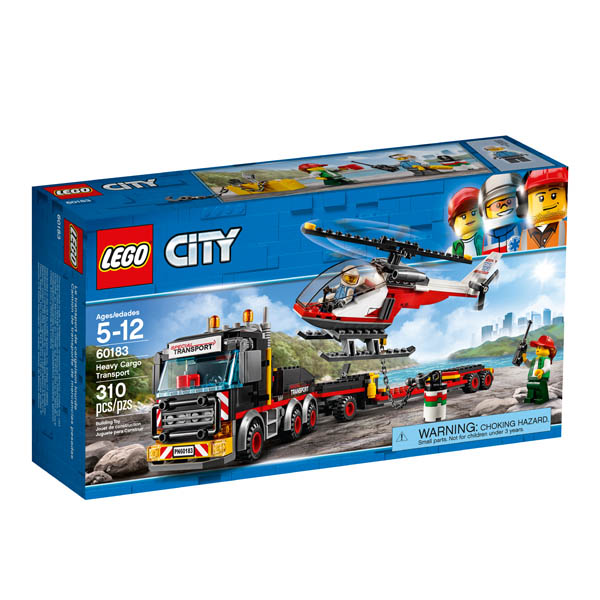 LEGO City Great Heavy Cargo Transport (60183)