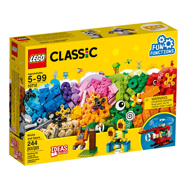 LEGO Classic Bricks and Gears (10712)