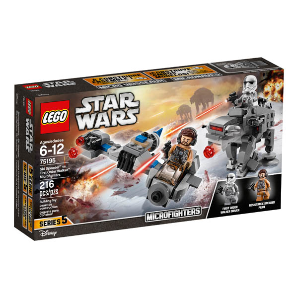 LEGO SW Ski Speeder VS 1st Ord Wlkr Mc(75195)