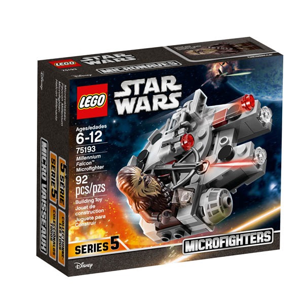 LEGO Star Wars Millennium Falcon MicroFighter (75193)