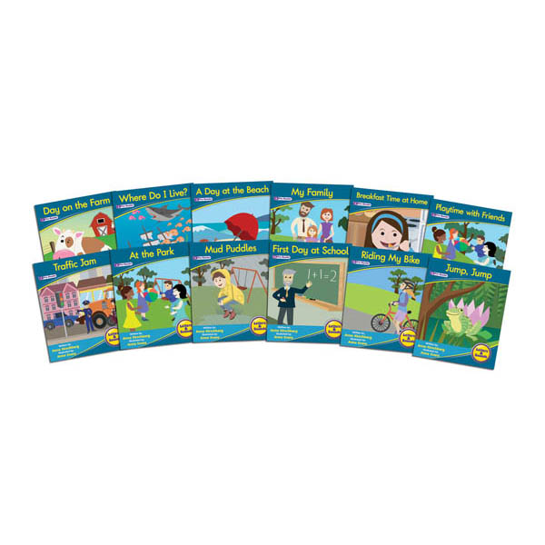 Decodable Readers: Fiction Phase 1 Phonemic Awareness (set of 12)
