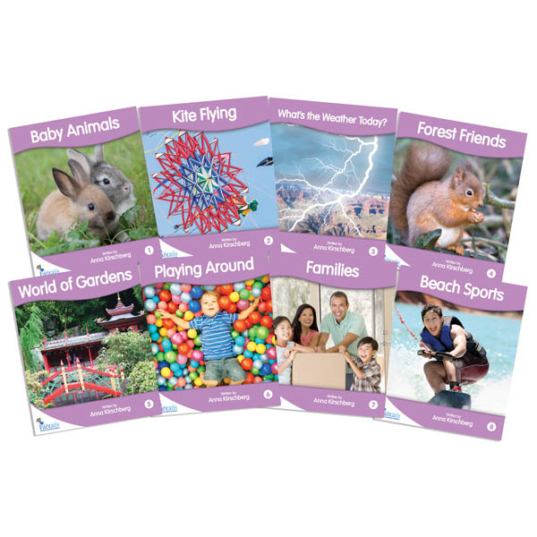 Fantail Readers: Non-Fiction - Lilac (set of 8) Reading Level 1, Guided Reading Level A