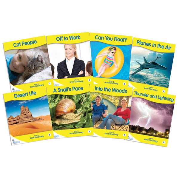 Fantail Readers Yellow Non-Fiction set of 8