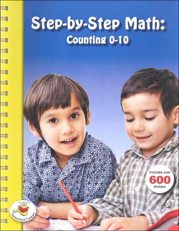 Step-by-Step Math: Counting 0 to 10