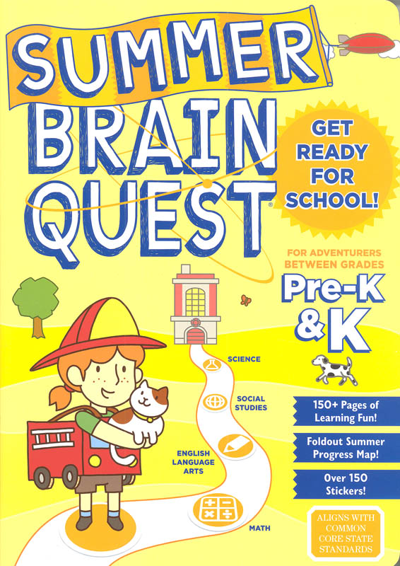 Summer Brain Quest Between Grades Pre-K & K