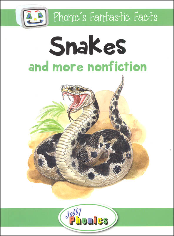 Jolly Phonics Decodable Readers Level 3 Phonic's Fantastic Facts - Snakes and more nonfiction