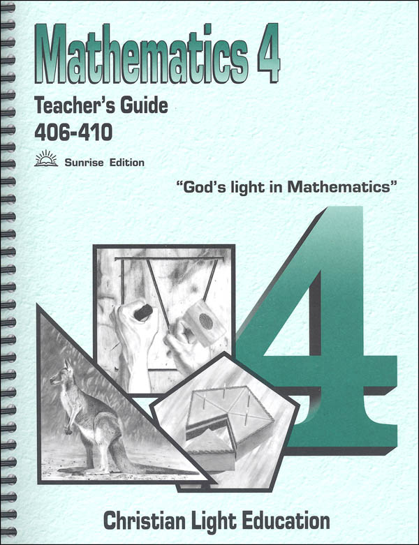 Mathematics Teacher's Guide 406-410 Sunrise Edition