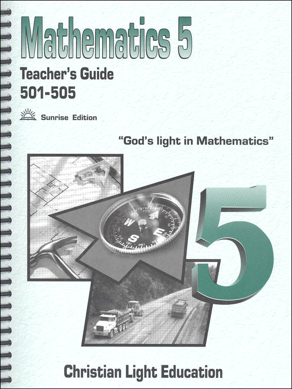 Mathematics Teacher's Guide 501-505 Sunrise Edition