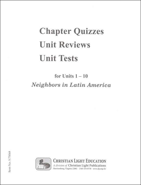 Social Studies 600 Neighbors in Latin America Quizzes & Tests