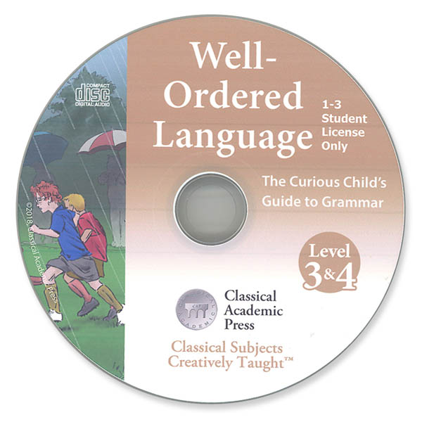 Well-Ordered Language Levels 3 & 4 Songs & Chants CD