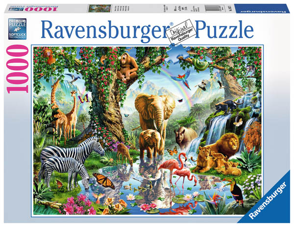 Adventures in the Jungle Puzzle (1000 pieces)