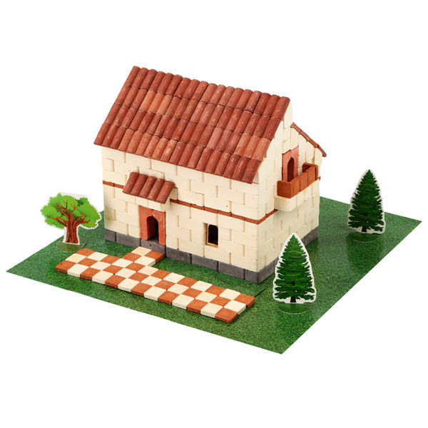Irish House (Light) 450 Pieces (Wise Elk Construction Set)