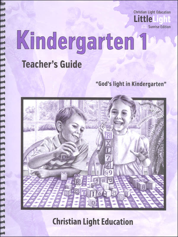 Kindergarten I Teacher's Guide with answers Sunrise Edition