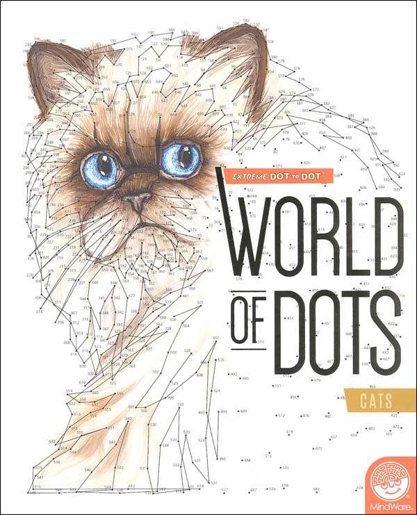 Extreme Dot to Dot World of Dots - Cats