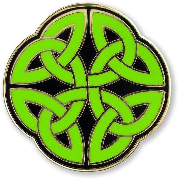 Celtic Knot Enamel Pin