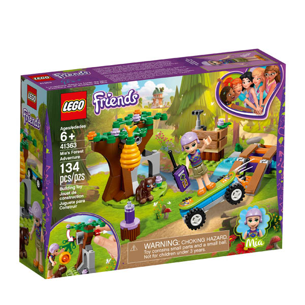 LEGO Friends Mia's Forest Adventure (41363)
