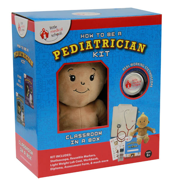 How to Be a Pediatrician Kit - Multi-Cultural Doll