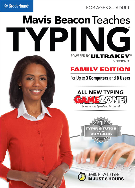 Mavis Beacon Teaches Typing Powered by Ultrakey Family Edition - Download - Macintosh