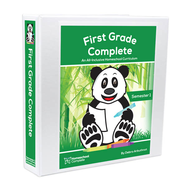First Grade Complete: Semester One - Additional Student Workbook