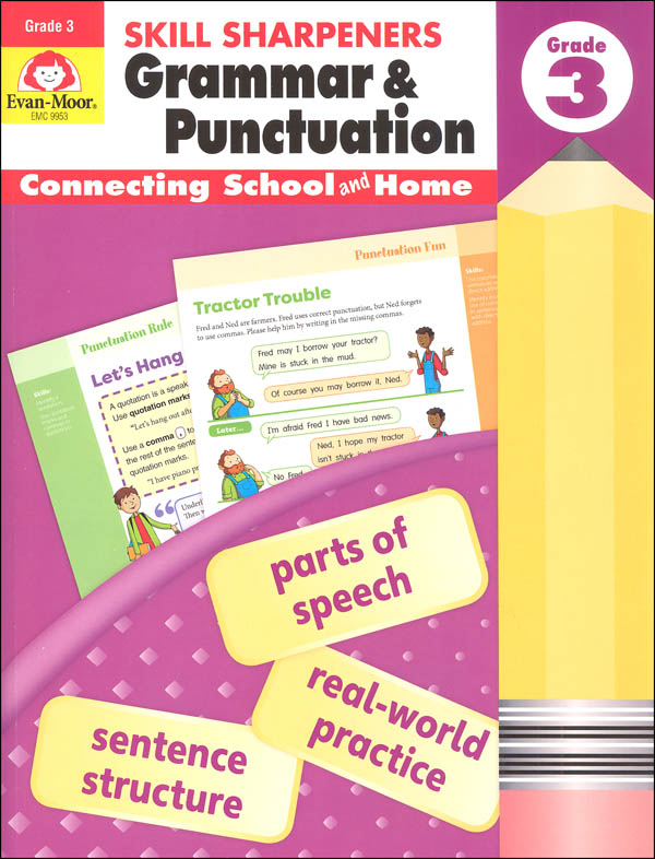 Skill Sharpeners: Grammar & Punctuation - Grade 3