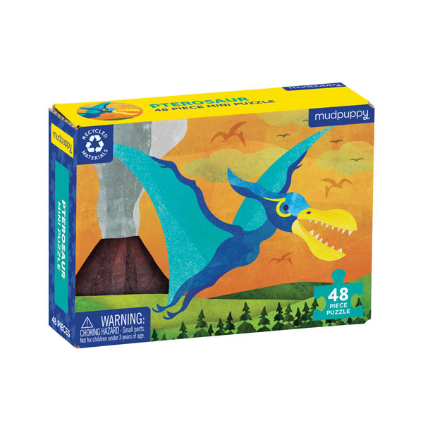 Pterosaur Mini Puzzle (48 pieces)