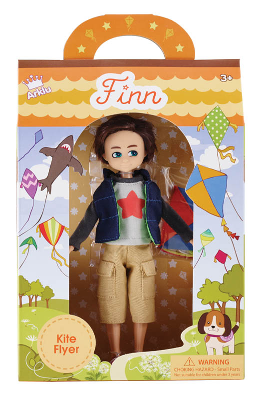 Lottie Doll Kite Flyer - Finn