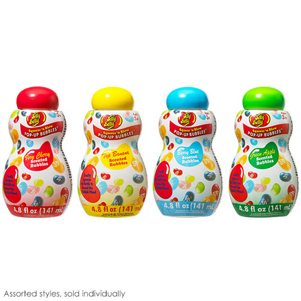 Jelly Belly Squeeze'n Blow Pop-Up Bubbles