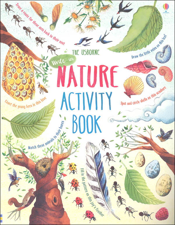 Nature Activity Book (Usborne)