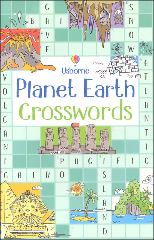 Planet Earth Crosswords (Usborne)