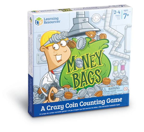Money Bags Coin Value Game