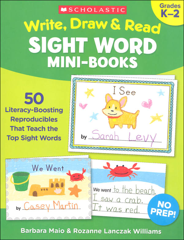Write, Draw & Read Sight Word Mini-Book