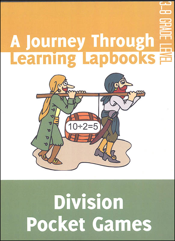 Division Pocket Games Lapbook pdf (on CD ROM)