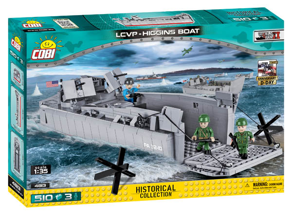 LCVP Higgins Boat - 510 pieces (Small Army World War II)