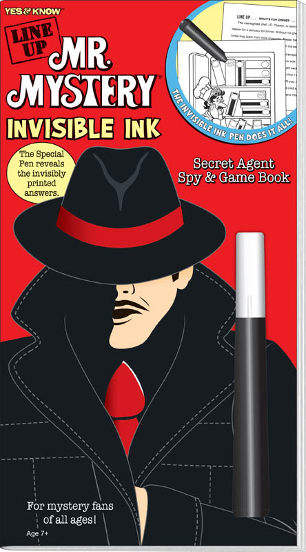 Line-Up Mr. Mystery Invisible Ink