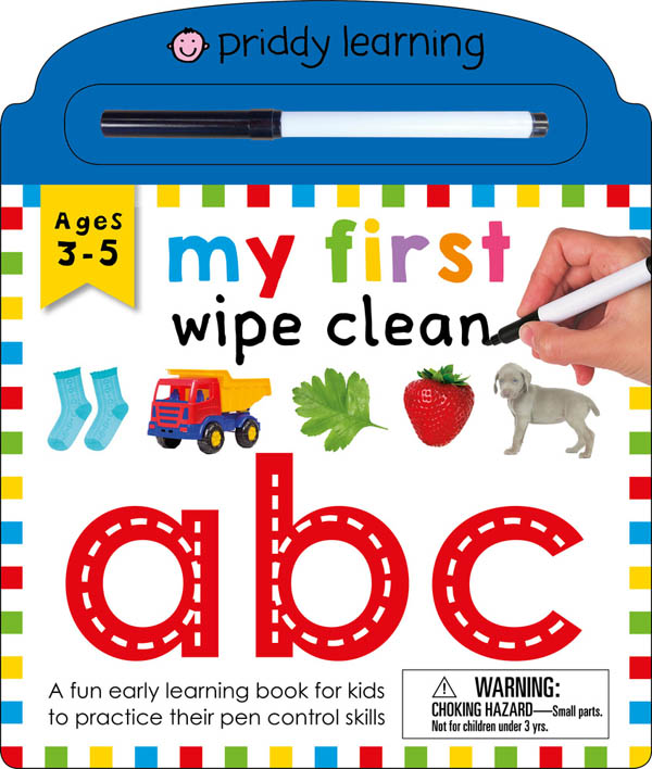 My First Wipe Clean: ABC Board Book