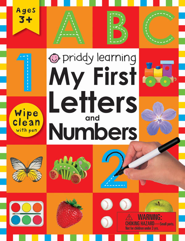 Wipe Clean Workbook: My First Letters and Numbers